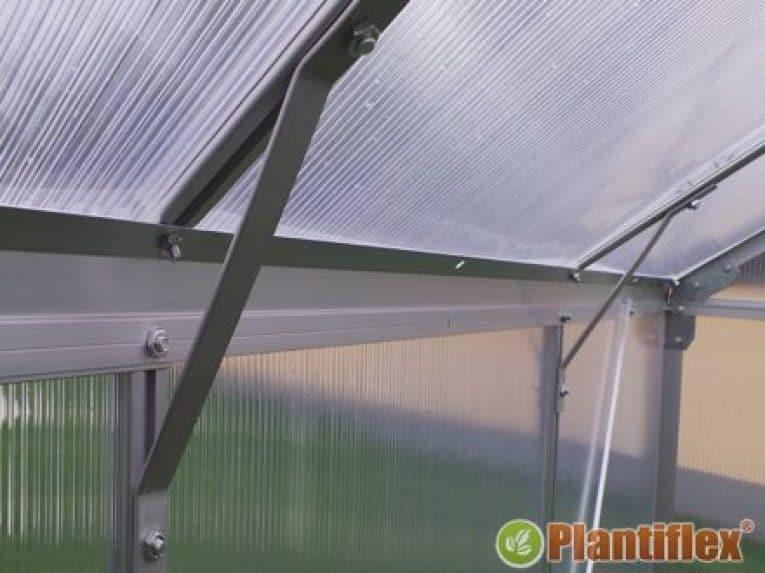 Plantiflex Gewächshaus Aufbau 4
