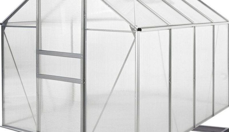 Deuba- Aluminium Pflanzenhaus Alu M3 Test